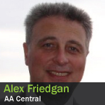 Alex Friedgan, AA Central