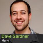 Dave Gardner, Hailo