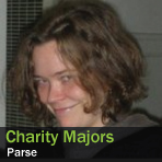 Charity Majors, Parse